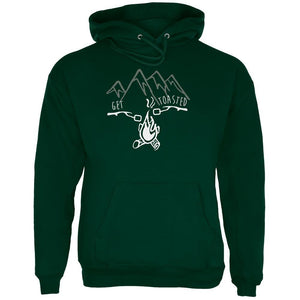 Camping Nature Get Toasted Smores Mens Hoodie