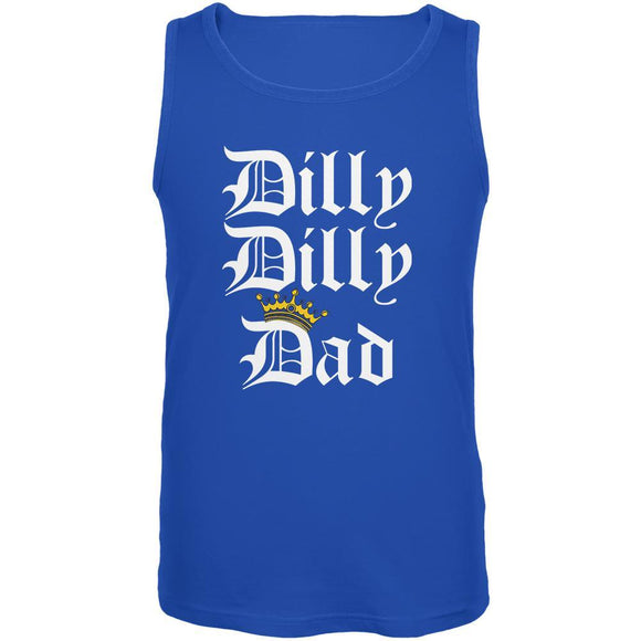 Father's Day Dilly Dilly Dad Mens Tank Top