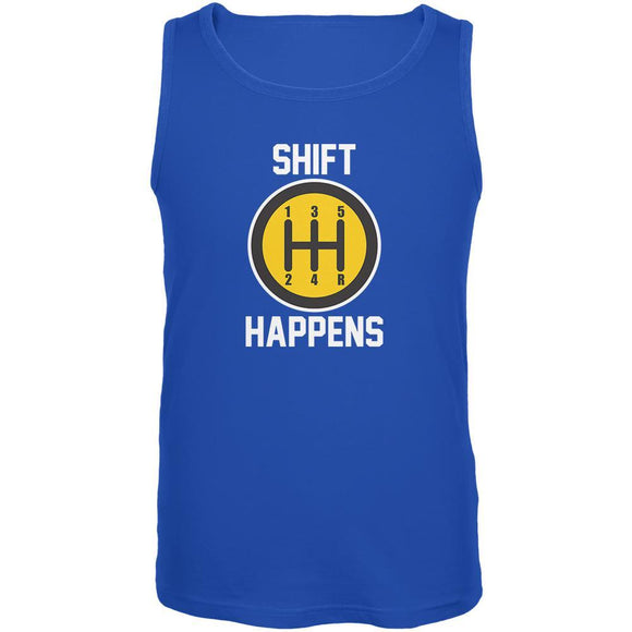 Shift Happens Mens Tank Top