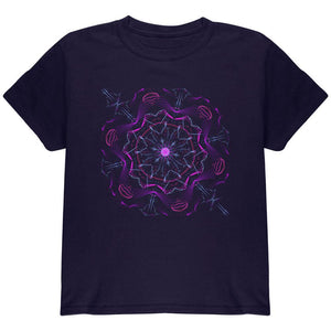 Steam Punk Gear Mandala Youth T Shirt