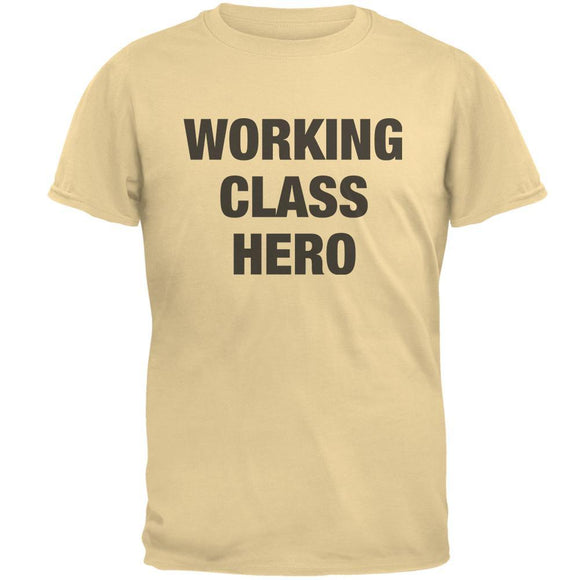 Working Class Hero Inspired By John Lennon Mens T Shirt