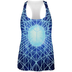 Gravity of a Black Hole Singularity All Over Womens Work Out Tank Top