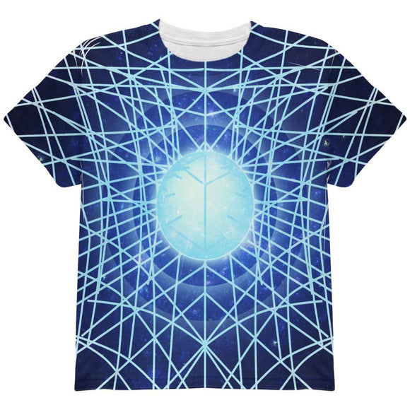 Gravity of a Black Hole Singularity All Over Youth T Shirt