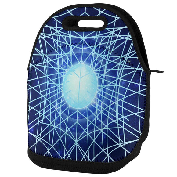 Gravity of a Black Hole Singularity Lunch Tote Bag