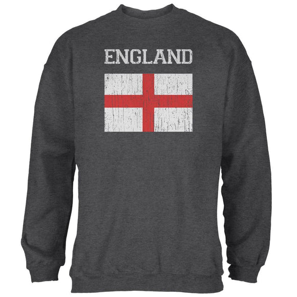 World Cup Distressed Flag England Mens Sweatshirt