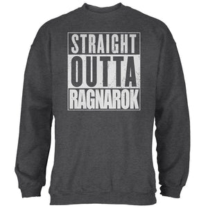 Straight Outta Ragnarok Viking Mens Sweatshirt