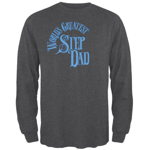 World's Greatest Step Dad Mens Long Sleeve T Shirt