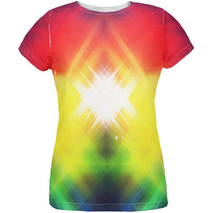 Galaxy Nova 70s Flashback All Over Womens T Shirt