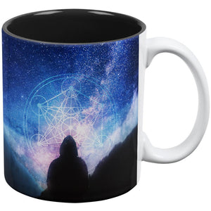 La Fin du Monde Metatron's Cube All Over Coffee Mug
