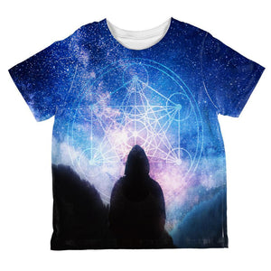 La Fin du Monde Metatron's Cube All Over Toddler T Shirt