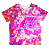 Sri Yantra Sacred Geometry All Over Toddler T Shirt