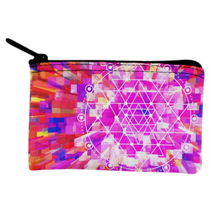 Sri Yantra Sacred Geometry Coin Purse