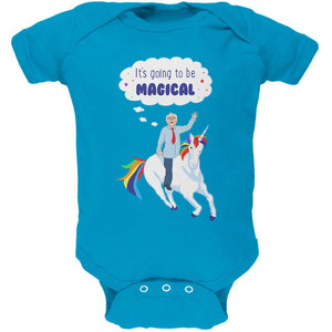 Election 2020 Bernie Sanders is Magical Unicorn Soft Baby One Piece