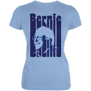 Election 2020 Retro 70s Color Bars Bernie Sanders Juniors Soft T Shirt
