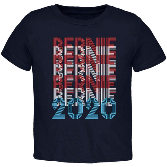 Election 2020 Bernie Sanders Vintage Style Overlap Toddler T Shirt