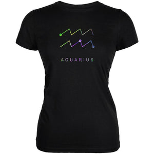 Sacred Zodiac Aquarius Juniors Soft T Shirt