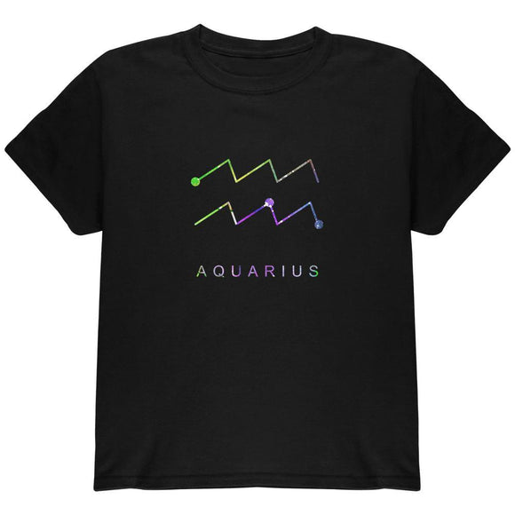 Sacred Zodiac Aquarius Youth T Shirt