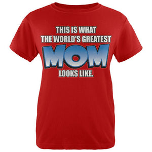 Mother's Day World's Greatest Mom Womens T Shirt