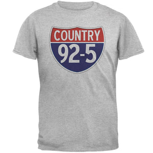 iHeartRadio Country 92-5 Logo Mens T Shirt Heather