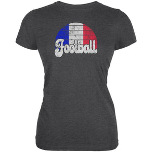 World Cup France Football Soccer Juniors Soft T Shirt