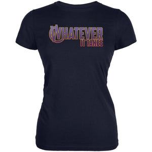Whatever It Takes Juniors Soft T Shirt