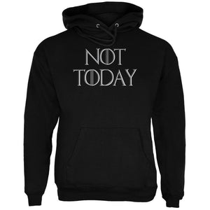 Not Today Procrastinate Death Mens Hoodie