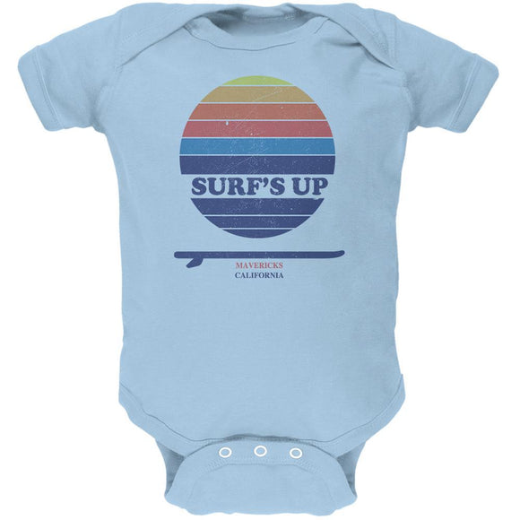 Surf's Up Mavericks California Soft Baby One Piece