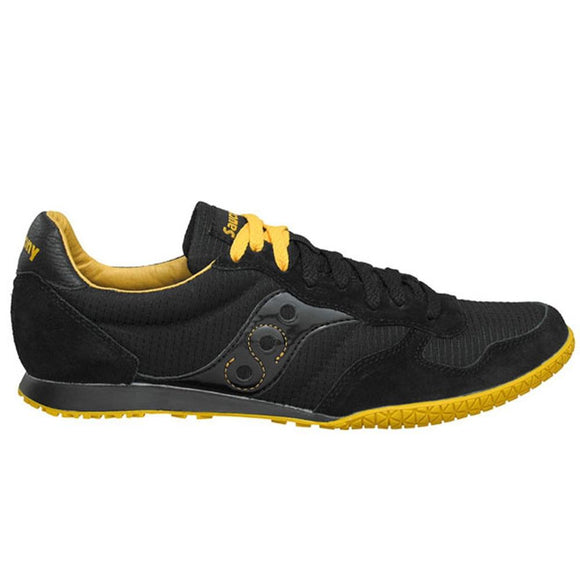 Saucony - Bullet Black Yellow Sneakers