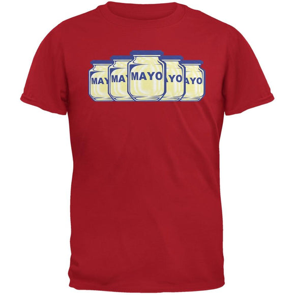 Cinco De Mayo - Funny Jar Joke Red Adult T-Shirt
