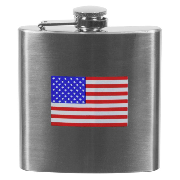 American Flag 6oz Flask