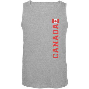 World Cup Canada Heather Grey Adult Tank Top