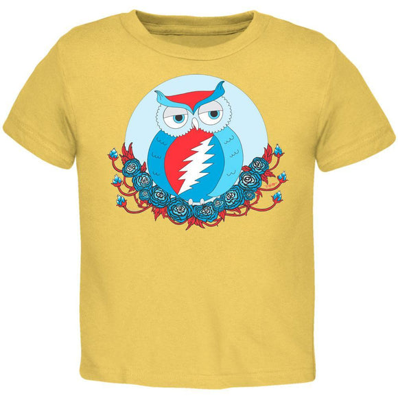 Grateful Dead - Steal Your Face Owl Banana Toddler T-Shirt