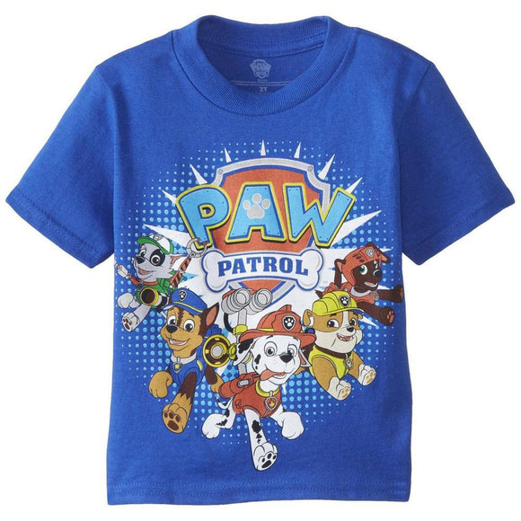Paw Patrol - Running Logo Toddler T-Shirt
