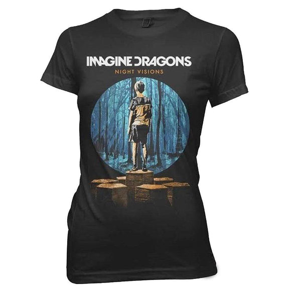 Imagine Dragons - Cover Sketch Juniors T-Shirt