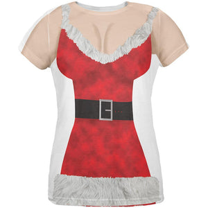 Sexy Mrs. Claus All Over Womens T-Shirt