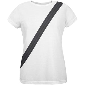 Halloween Seatbelt Driver Side Costume All Over Womens T-Shirt