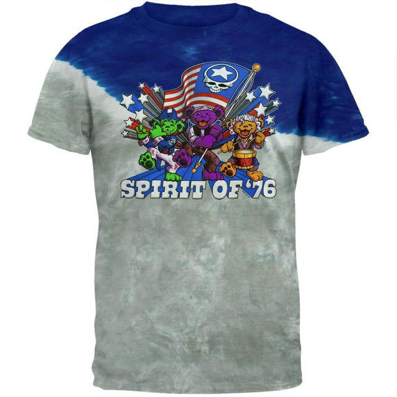 Grateful Dead - Spirit 76 Tie Dye T-Shirt