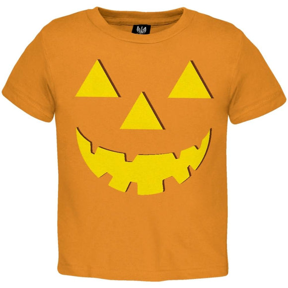 Halloween Jack-O-Lantern Costume Toddler T-Shirt