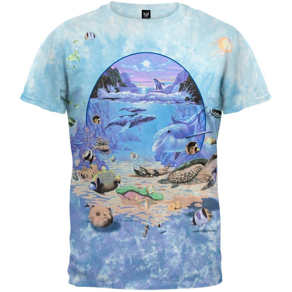 Under The Sea Tie-Dye T-Shirt