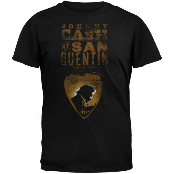 Johnny Cash - San Quentin Pick T-Shirt
