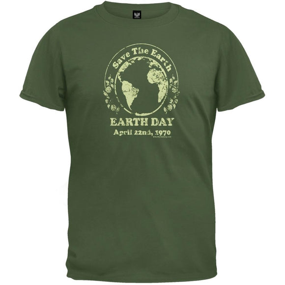 Earth Day - Earth Day 1970 Organic T-Shirt