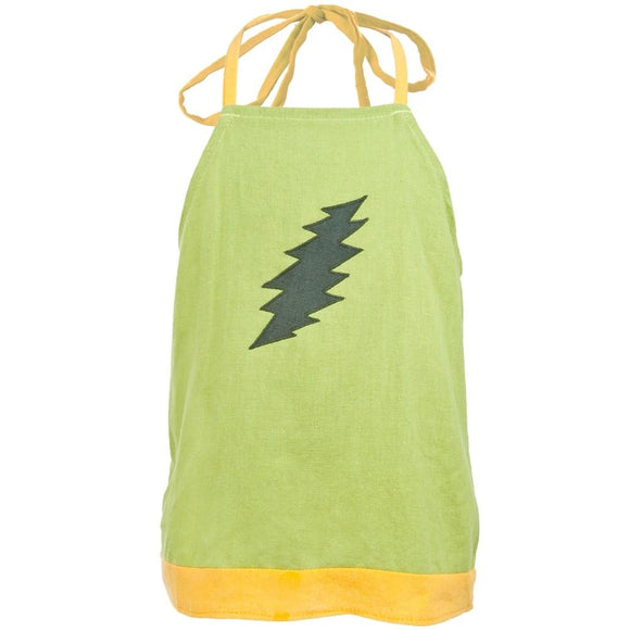 Grateful Dead - Lightning Bolt Green Toddler Top