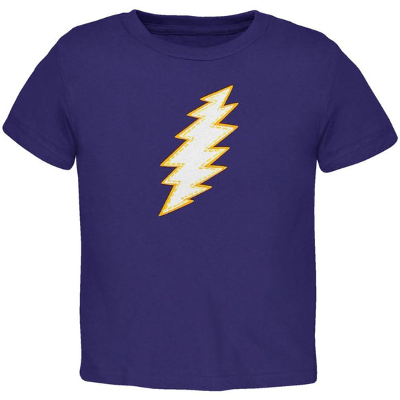 Grateful Dead - Purple Bolt Toddler T-Shirt