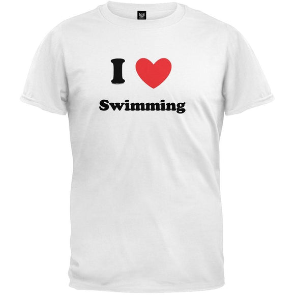 I Heart Swimming T-Shirt