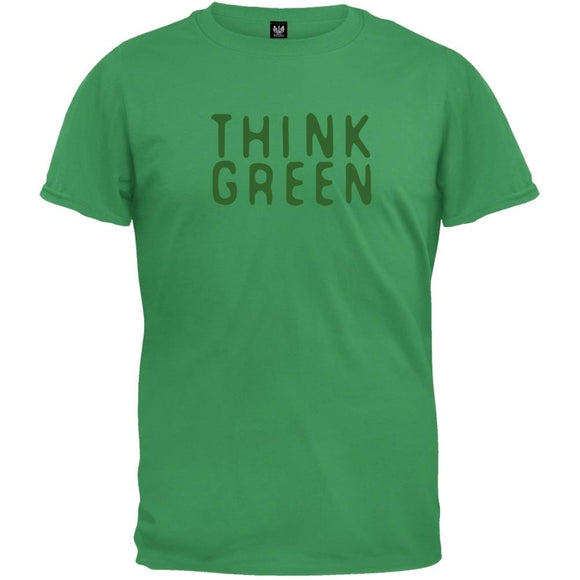 Earth Day - Think Green T-Shirt