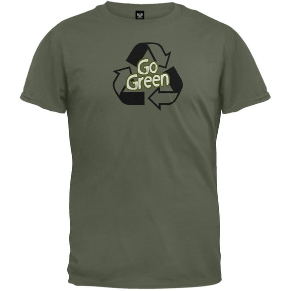 Earth Day - Go Green Organic T-Shirt