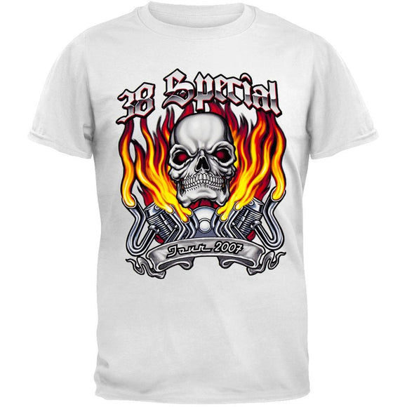 .38 Special - Skull Flames 07 Tour T-Shirt