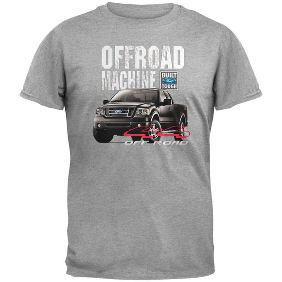 Ford - Offroad F-150 Grey Adult T-Shirt