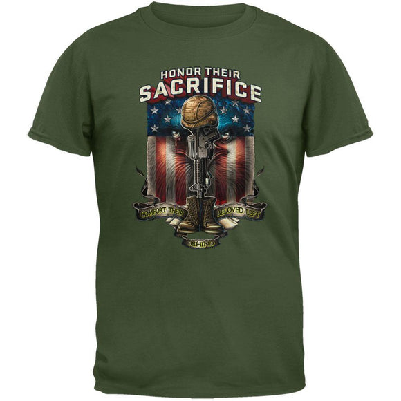 Lethal Threat - Honor Their Sacrifice T-Shirt