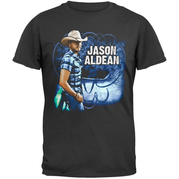 Jason Aldean - Plaid Shirt 2010 Tour T-Shirt